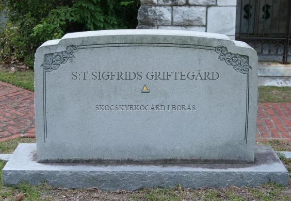 S:t Sigfrids Griftegård ~ Skogskyrkogård i Borås