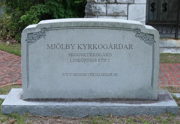 Mjölby Kyrkogårdar ~ Skogskyrkogård i Linköpings Stift