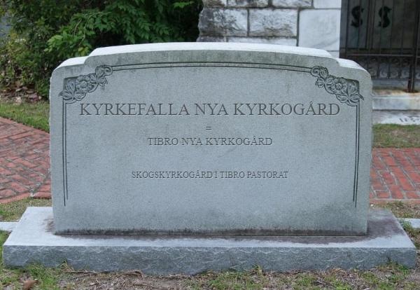Kyrkefalla Nya Kyrkogård ~ Skogskyrkogård i Tibro Pastorat